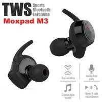 M oxpad M3หูฟังไร้สายแบบไดนามิกDualไดรเวอร์บลูทูธ4.1 TWSหูฟังหูฟัง