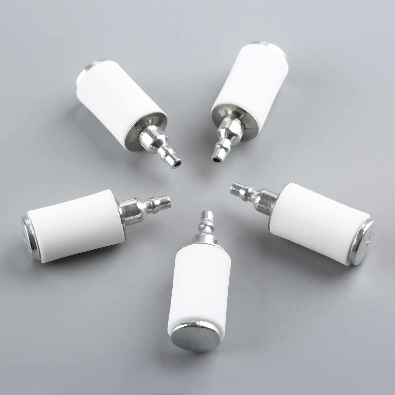 DRELD 5Pcs Gas Fuel Filter For Weedeater Poulan 2250le P1500 P3500 on