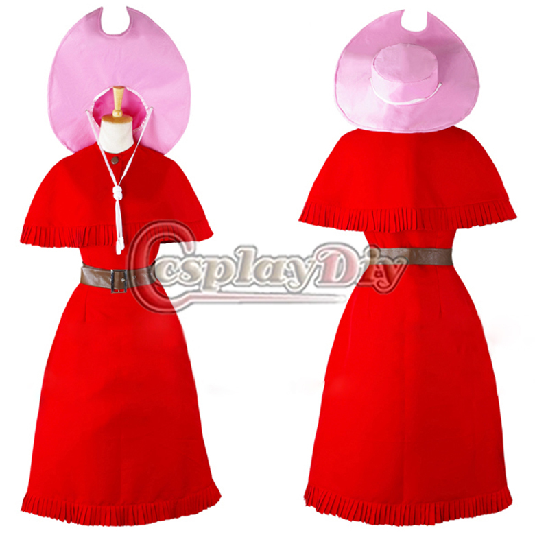 Cosplaydiy Free shipping Custom made Anime game cosplay Anime Digimon Adventure Tachikawa Mini party red dress cosplay costume image