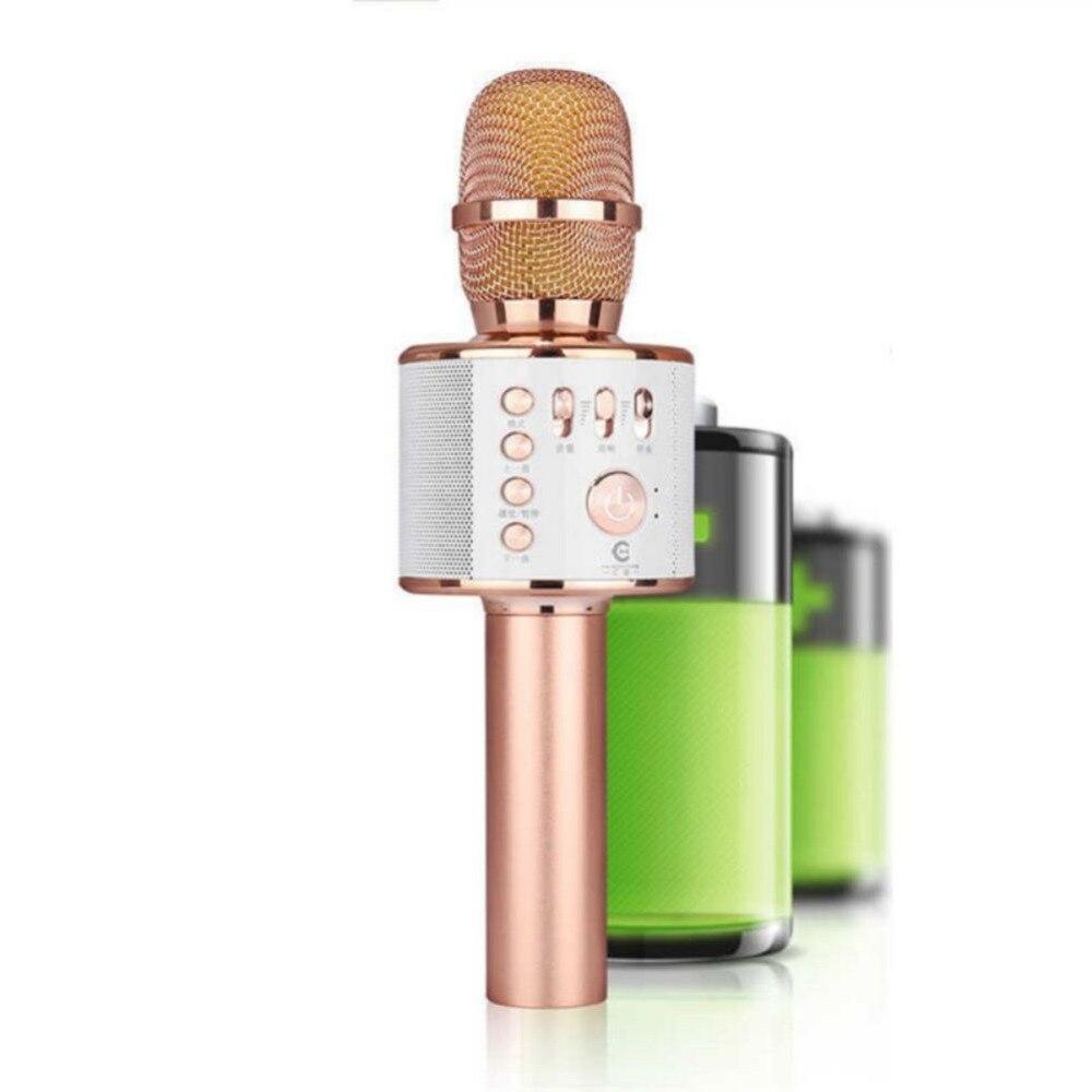 K38 Handheld KTV Mikrofon Drahtlose Bluetooth Karaoke Mic Speaker Spieler Professionelle Mikrofone Mit Carring Fall
