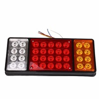 Likebuying Car Styling 24V 36 LED Rear Turn Signal Truck Trailer Stop Rear Tail Lights Indicator