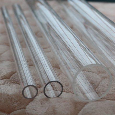 Tubo de Acrílico Transparente de Alta para o Tanque Tanque de Peixes de Aquário Suprimentos de Irrigação do Jardim 50 cm Comprimento 16mm ~ 90mm Tubo de Peixes de Aquário Conector da Tubulação