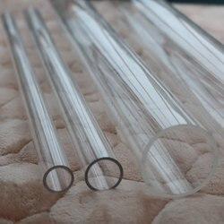 Tubo transparente alto do tubo acrílico do comprimento 16mm 90 90mm de 50cm para o aquário do tanque de peixes fornece o conector da tubulação de irrigação do jardim