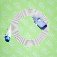 Compatível com Mindray T5/T6/T8 monitor Oxímetro de pulso a 0010 30 42737 sensor de Spo2 adapte cabo  macho 7pin para DB9 fêmea.|mindray pulse oximeter -