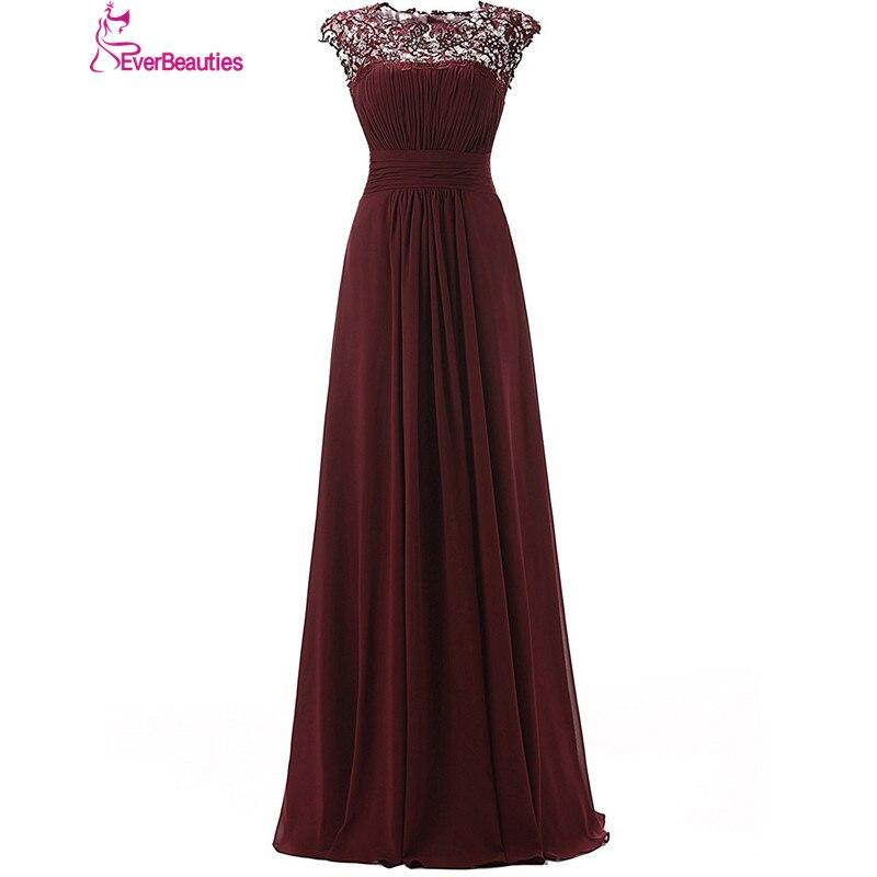 Vestidos De Madrinha   Bridesmaid     Dresses   Long 2019 Chiffon with Lace Appliques   Bridesmaids   Gowns Wedding Guest   Dresses