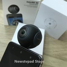 Insta360 AIR Мини-панорамная 360 Камера 360 градусов Cam 3 К HD Широкий двойной угол рыбий глаз VR видео камера для Andriod смартфон