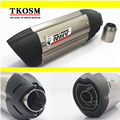 Carbon Fiber 51MM Stainless Steel Back Pressure Motorcycle Exhaust Muffler for 51mm Diameter exhaust for MIVV