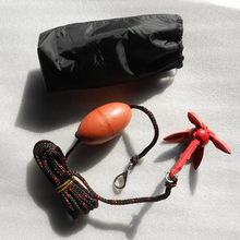 Newly Rubber Boat Anchor Kit Kayak Buoy Marine Rope Metal Anchor with Storage Bag for Sailing Drifting 19ing(China)