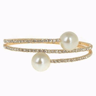 Silver Gold Spiral Wedding...