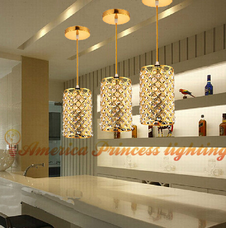 Bar-cabeça único restaurante luzes lustre de cristal de iluminação do corredor bar, material de ferro, E27, AC110-240V