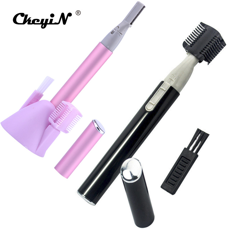 где купить Ckeyin 2pcs Lady Eyebrow Trimmer Women Ladies Body Shaver Razor Epilator for Men Women Personal Care Shaving Device Shaper дешево
