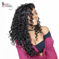 Ever Beauty 180 Density 360 Lace Front Wig Brazilian Loose Wave Human Remy Hair Natural Black