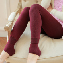 New Women Leggings Winter Warm Pants High Waist Thicken  High Elastic Women's Warm Velvet Leggings