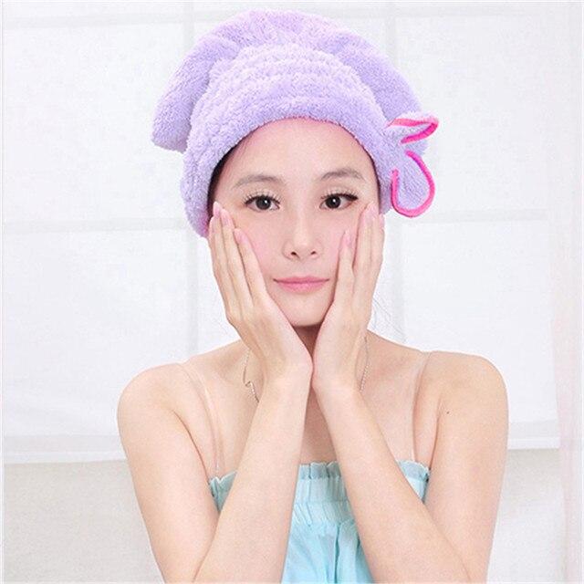 neue frauen haar trocknen hut spa handtuch turban mà tze nette