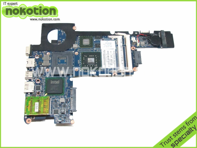 NOKOTION Laptop motherboard For Hp Pavilion DV3 Intel PM45 DDR2 With NVDIA Graphics KJW10 LA-4735P 576795-001 nokotion 416903 001 laptop motherboard for hp compaq nx8220 nc8230 series intel 915pm with graphics card ati 9800 ddr2