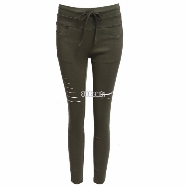 70165a226ce 2017 Sexy Womens Workout Leggings For Casual Front Pocket Fitness Legging  High Waist ElasticJegging leggings Hole