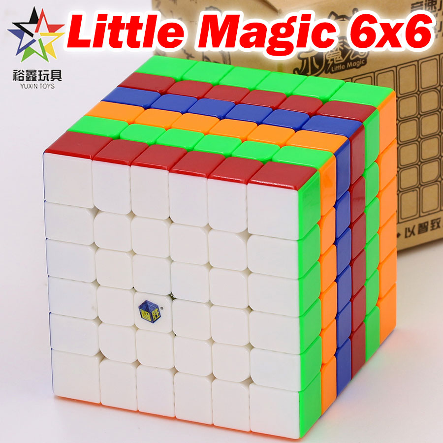 Puzzle Magic Cube YuXin 6x6x6 Little Magic Cube 6*6*6 666 65mm Logic Game Professional Speed Cube Educational Competition Toys Z