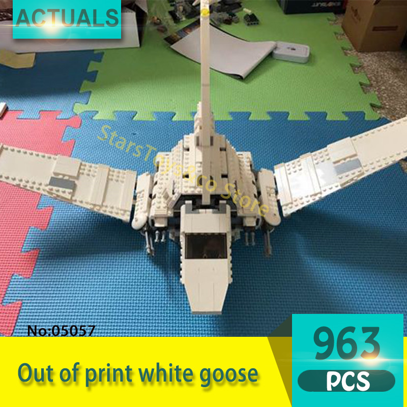 05057 937Pcs Out of print white goose Model Building Blocks Set  Bricks toys For Children Gift 75094  Star Series Wars dig it out mummy model excavation kit 5 set
