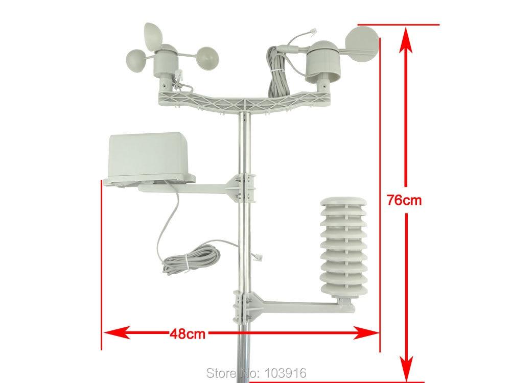 Alkatrész (kültéri egység) a Professional Wireless Weather - Mérőműszerek - Fénykép 6