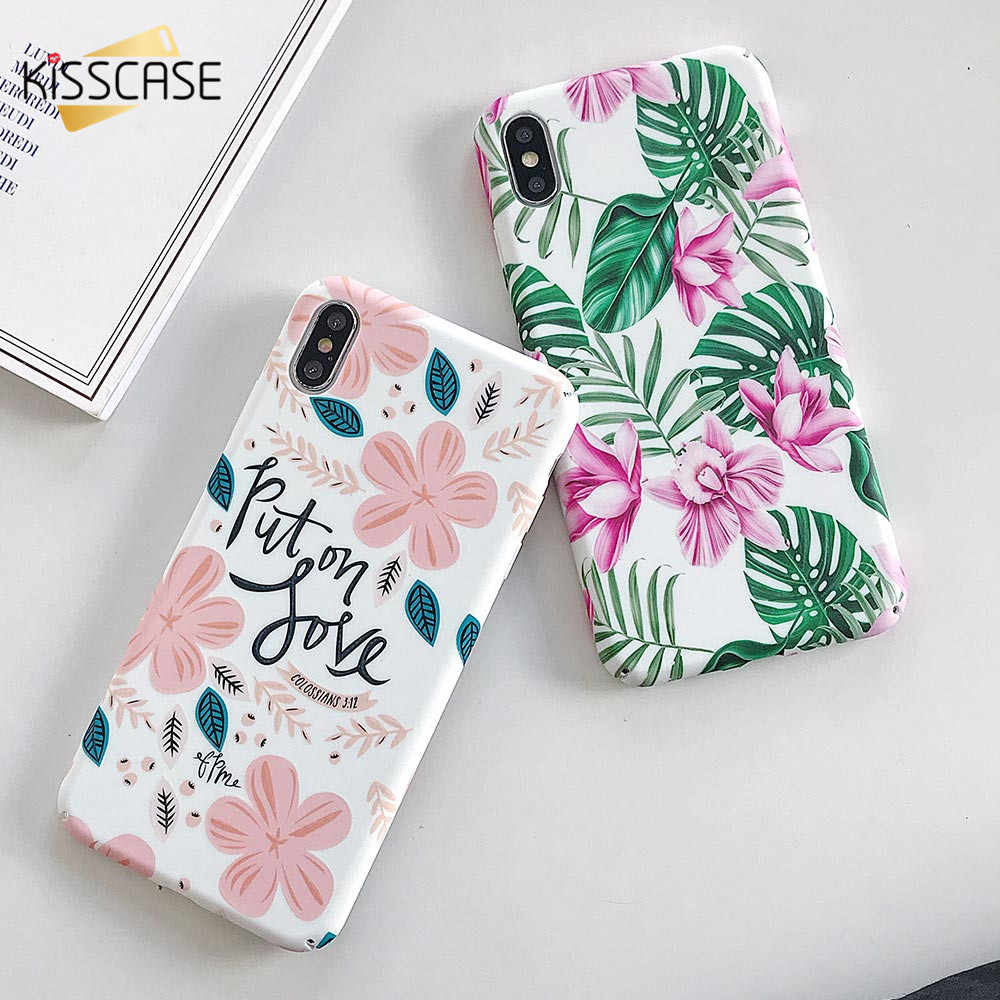 KISSCASE Luminous Flower Phone Case For Redmi Note 7 Pro 7 6 Pro 6 5 4X Shockproof Case For Xiaomi Redmi K20 Pro K20 Capinhas