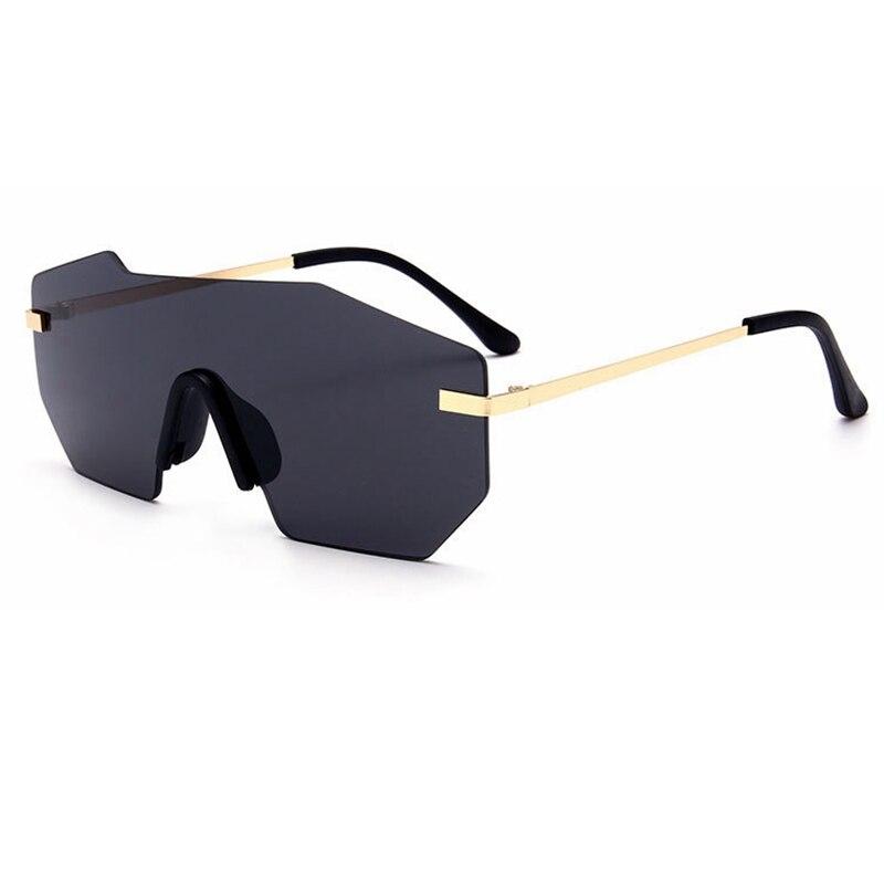 2017 lunettes de Soleil Femmes Italie Marque Designer Steakpunk lunettes de soleil femmes Surdimensionné lunettes de soleil hommes oculos de sol feminino