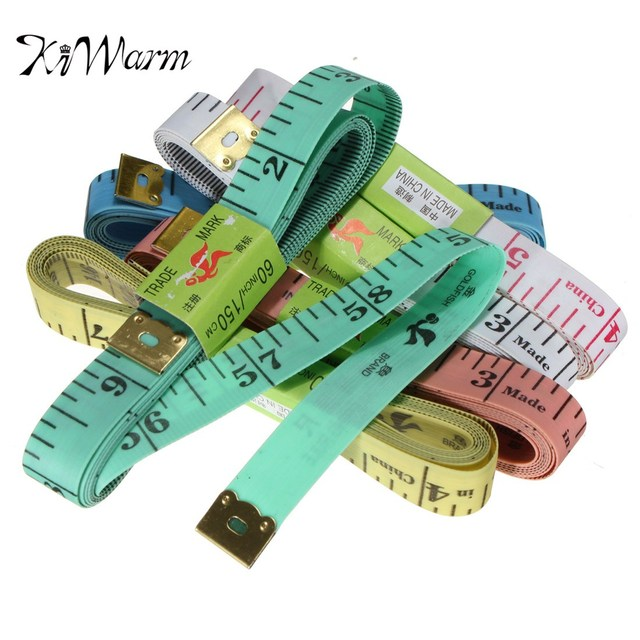 KiWarm Practical Soft Ruler 150cm/60inch CM and Inch Measure Tape ...
