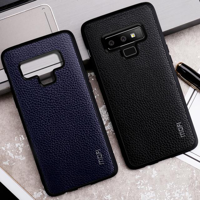 MOFi Samsung Galaxy Note 9 PU Leather Hard Back Case Cover