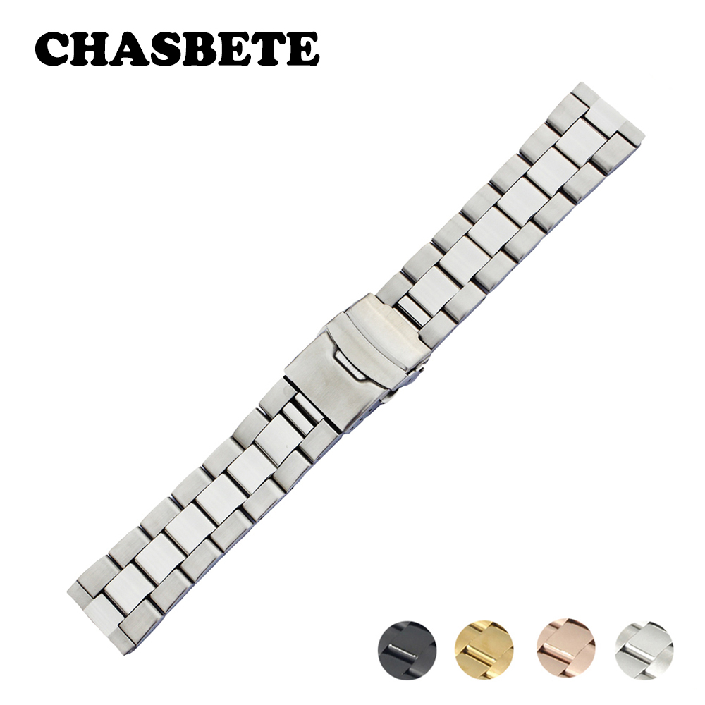 18mm 20mm 22mm 24mm Stainless Steel Watch Band for Bell