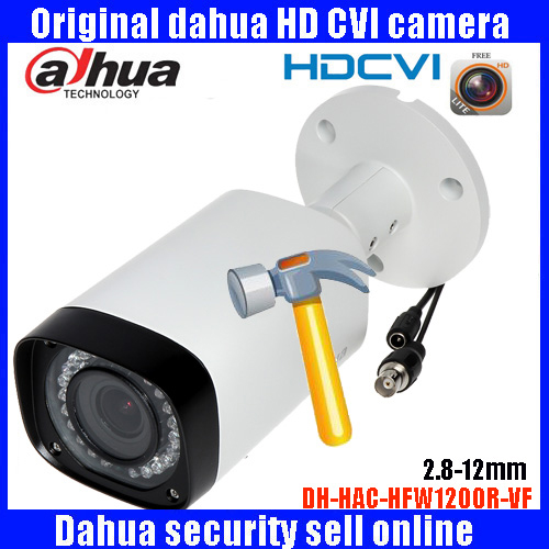 HD1080p Dahua HDCVI Camera 2MP DH-HAC-HFW1200R-VF bullet  Security Camera CCTV IR distance 30m HAC-HFW1200R-VF dahua hdcvi 1080p bullet camera 1 2 72megapixel cmos 1080p ir 80m ip67 hac hfw1200d security camera dh hac hfw1200d camera