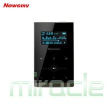 Nueva g1 original newsmy hifi reproductor de música 8 gb mp3 36 horas de juego de metal portátil mp3 Soporte de MP3 WMA WAV AAC OGG FLAC APE formato
