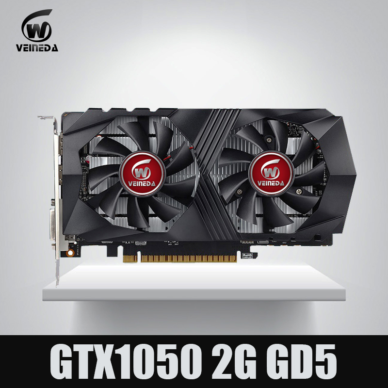 Tarjeta de vídeo GTX1050 GPU tarjeta gráfica 2G DDR5 Gaming Tarjeta de la minería Instantkill GTX950, GTX750, GTX650 para nvidia Geforce Gtx juegos