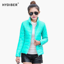2014 NEW brand new women's jacket to keep warm in winter padded silk, ladies fashion casual Slim padded winter jacket 269T