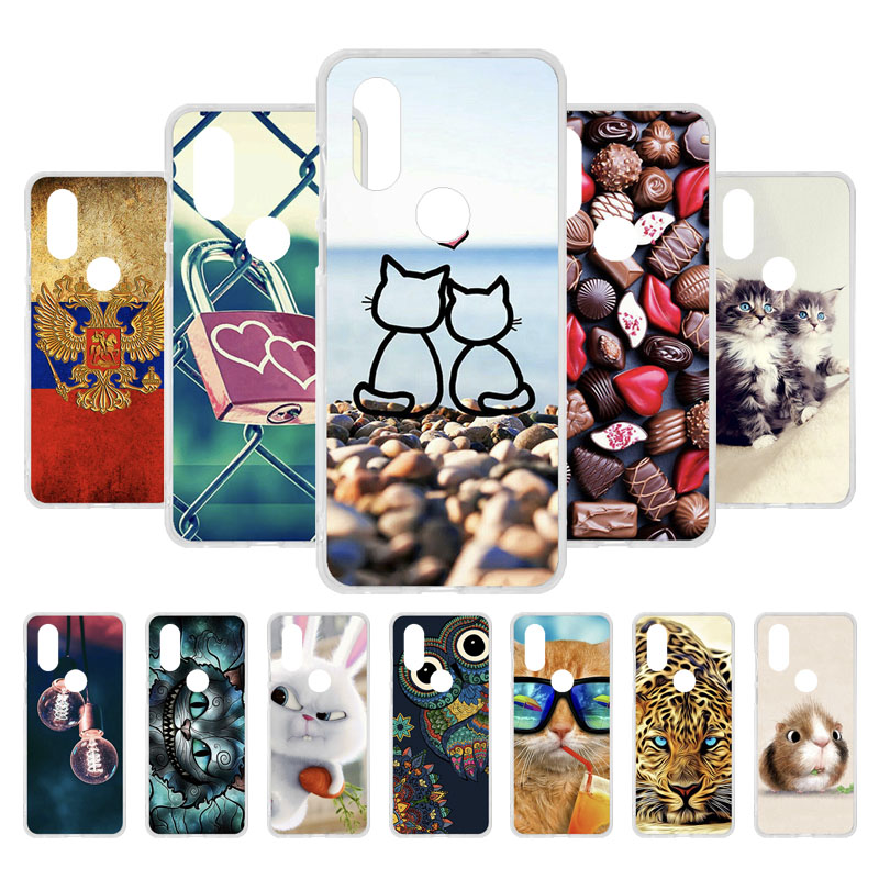 3D DIY For Motorola Moto One Vision Case Silicone 6 2 inch Cute Back Cover for Motorola Moto P40 Phone Case TPU Soft Funda Capa in Fitted Cases from Cellphones Telecommunications