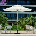 Folha roxo Ao Ar Livre guarda-chuva do pátio varanda jardim jardim jardim sombrilla playa de Mercado 9ft Mesa de Café Redonda Praia sem base