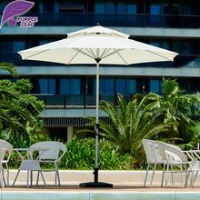 Purple Leaf Outdoor patio umbrella balcony parasol garden sombrilla de playa 9ft Market Table Cafe Beach