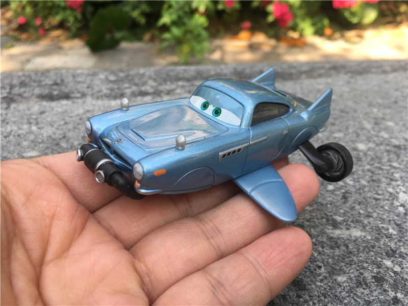 Image 3 - Original Disney Pixar Cars Finn McMissile with Breather Deluxe Rare Metal Diecast Toy Cars New Loose-in Diecasts & Toy Vehicles from Toys & Hobbies