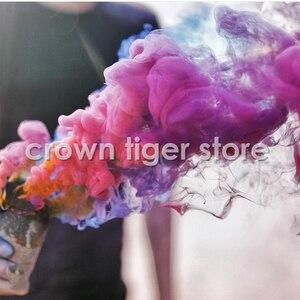Image 3 - Heißer farbige Magic rauch requisiten für photograp Studio Video backgroud rauch kuchen nebel Pyrotechnik szene magie trick spielzeug für erwachsene