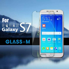 10pcs/lot Best Quality 9H Hardness Screen Protector Glass 2.5D Tempered Glass For Samsung Galaxy S7 G930 G9300 Protective Film