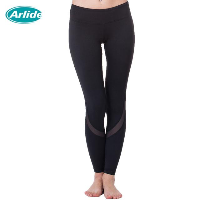 Yoga Sports Leggings For Woman Sports Tight Mesh Yoga Leggings Comprehension Yoga Pants Women Running Tights Women K-9002