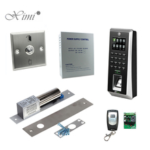 TCP/IP Standalone Bioemtric Fingerprint Recognition Door Access Control System Door Security ZK F21 SilkID Access Control