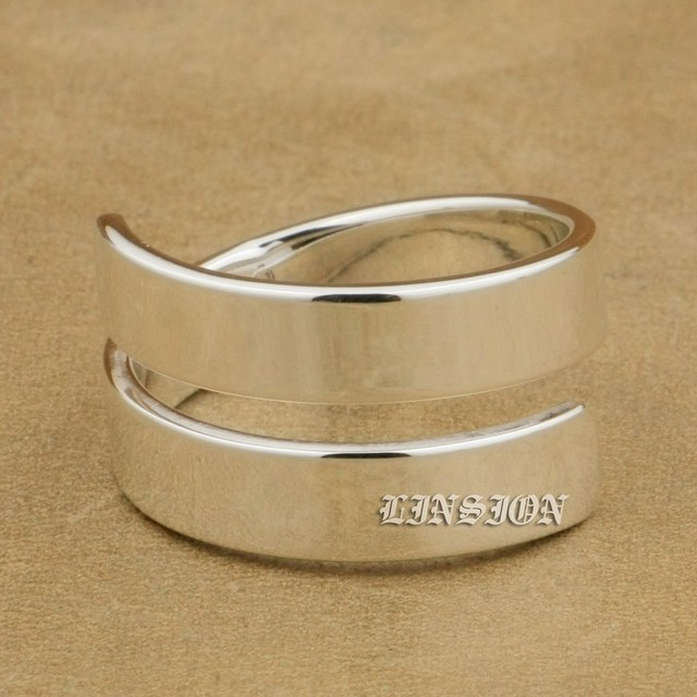 US Size 6 to 12 Solid 925 Sterling Silver 5mm Width High Polished Couple Ring Lover`s Ring Wedding Charms Ring 9Y008