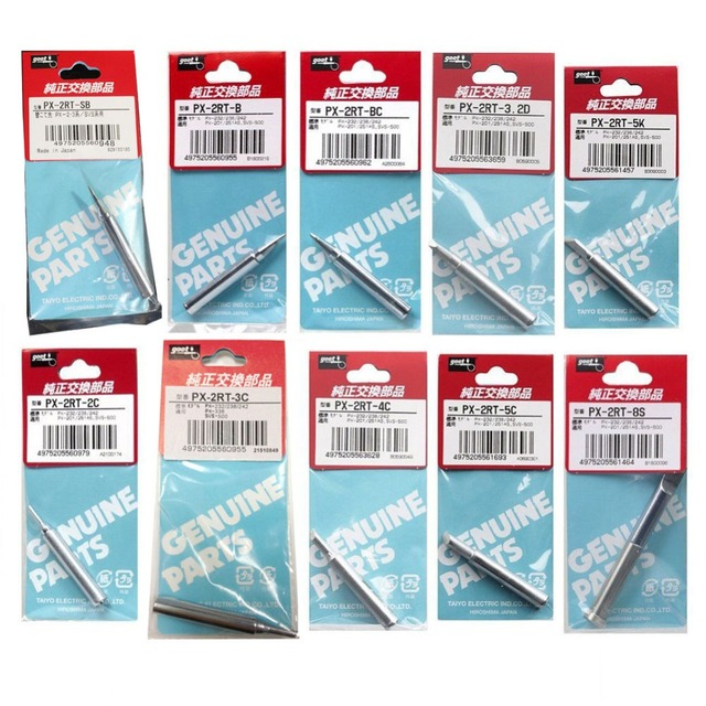 Original Japan GOOT PX 2RT Welding Tips for PX 201 PX 232 PX 238 PX ...