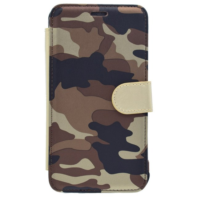 brand new ac847 3d3b2 US $12.55 |For Samsung S7 S7Edge J7 2016 Fashion Camouflage Wallet Phone  Case Camo Leather Cover Armor Protective Phone Cases-in Flip Cases from ...