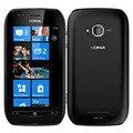 Original nokia lumia 710 teléfono móvil desbloqueado wifi 3g gps 5mp 3.7 ''pantalla táctil 8 gb rom barato nokia teléfono celular