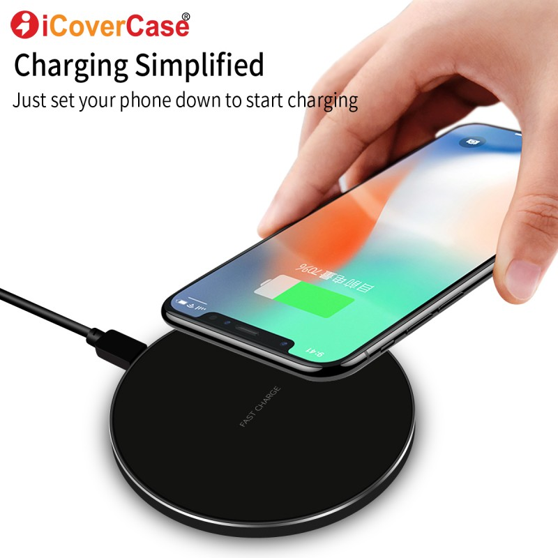 For Samsung Galaxy S8 s8+ s9+ S9 Plus Note 8 5 Wireless Charger Universal QI Fast Charger For iPhone X 8 8plus Phone Accessory