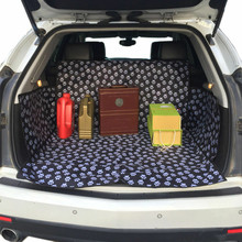 Pet Mat Dog Cat Pad Auto Car Trunk Back Seat Cover Waterproof Mat For Car  Cat Cage Protection new design dual use black 59x47 waterproof oxford auto car trunk mat back seat cover for pet dog