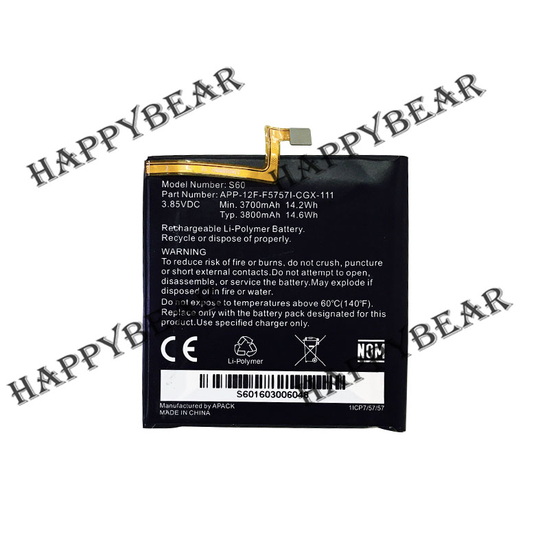 New Original 3800mAh Battery Replacement for CAT S60