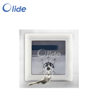 Automatic Door Five Position Key Switch Autodoor Operation Five Function Selection Switch Knob Type ABS Plastic