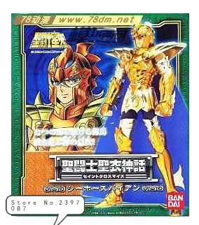 Livraison gratuite Bandai Saint Seiya tissu mer combattant mythe Marina hippocampe cheval de mer Baian figurine d'action