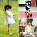 Girls Vest New 2016 Autumn Baby Girls Sweaters Vest So Fashion 1-5Yrs Baby Girl Clothes Brand Girls Vest Crochet Pink Dark Blue